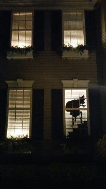 grinch window silhouette christmas christmas