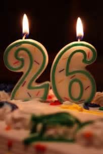Happy Birthday 26 Years Old