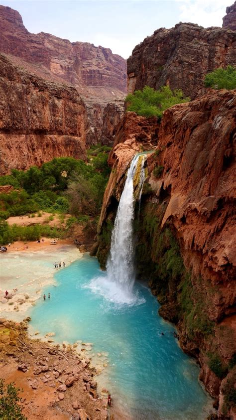 Havasupai Tribe Supai Arizona Easy To Lose Track Of