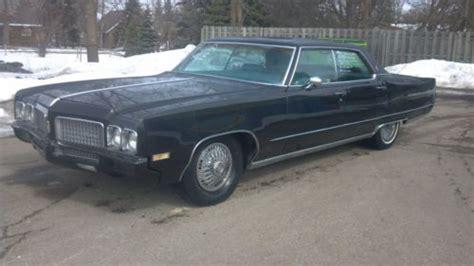 Buy Used Black 1970 Olds 98 4 Door Sedan 455 Rocket 47,000