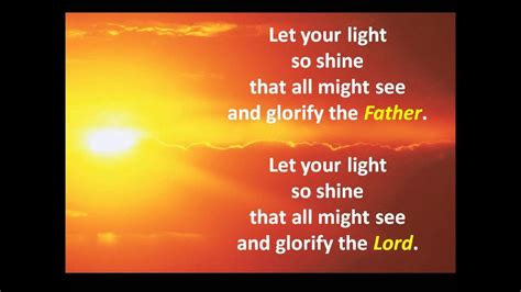 Let Your Light So Shine Kjv by Let Your Light So Shine Buddy The Time Singers