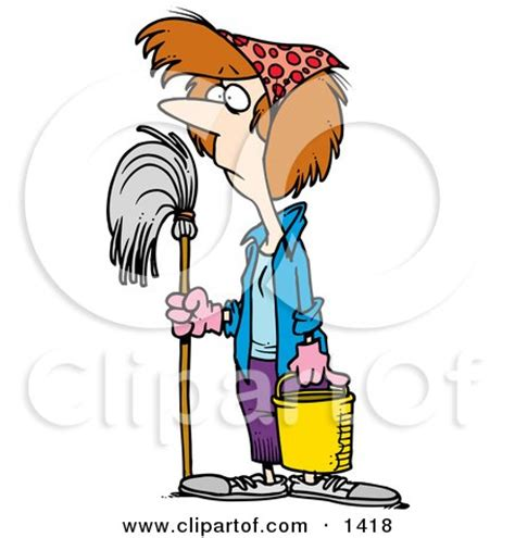 royalty  rf clipart  cleaners illustrations