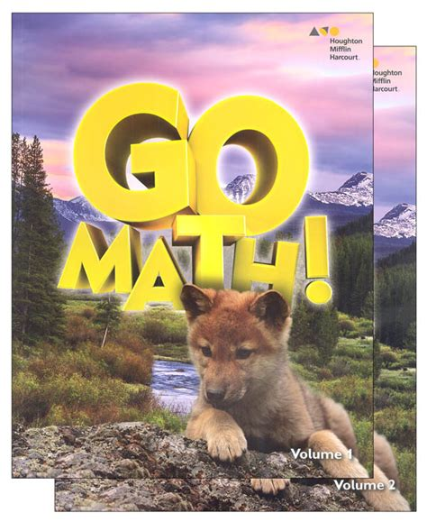 Go Math! Student Set 2016 Grade 1 (064317) Details  Rainbow Resource Center, Inc