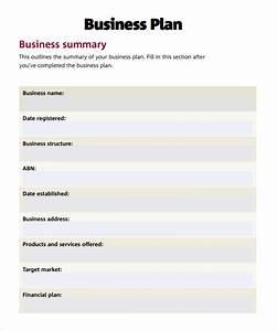 simple business plan samples