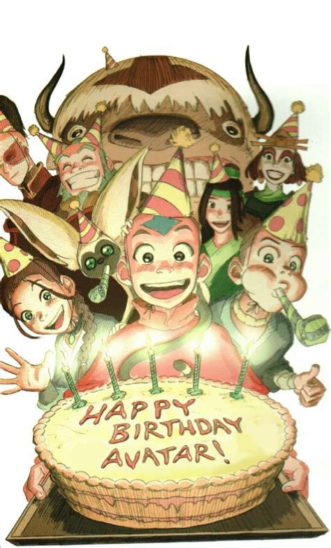today marks   anniversary    episode  avatar happy birthday avatar