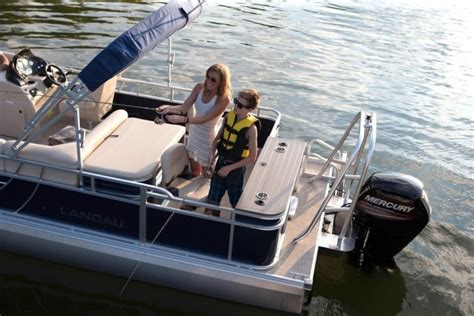 Used Pontoon Boats For Sale Waterford Mi by 2016 Landau Boats Waterford Mi For Sale 48328 Iboats