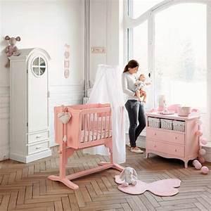 Deco Chambre Fille Bebe : chambre b b fille ~ Teatrodelosmanantiales.com Idées de Décoration