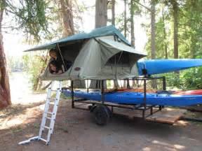 DIY Kayak Trailer Rack