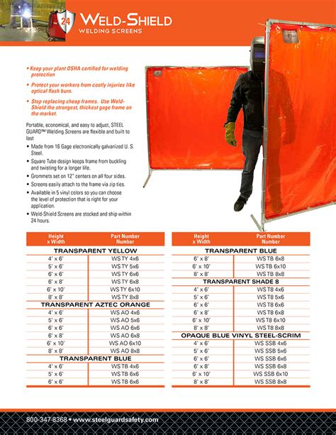 welding curtain roll screens portable weld safety barriers