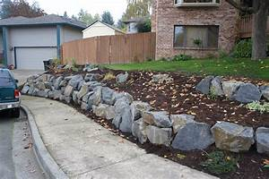 The Rock Retaining Wall Photo — Home Ideas Collection