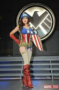 Captain America Female Cosplay