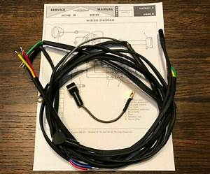 Harley Aermacchi M50 M65 S Complete Wiring Harness