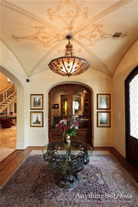 Old World Entry with Groin Ceiling   Mediterranean   Entry