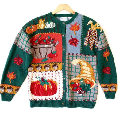 igly sweater cornucopia indian corn thanksgiving sweater the