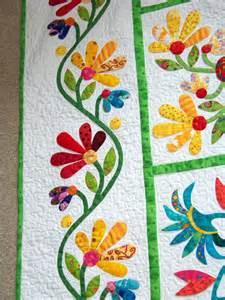 Garden Applique Quilt Patterns