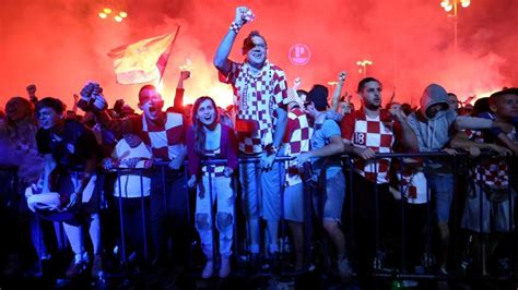 Croatia Fire After Miracle Entry Into Fifa World Cup