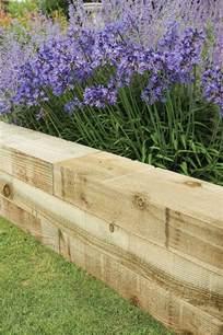 Landscape Timber Garden Edging