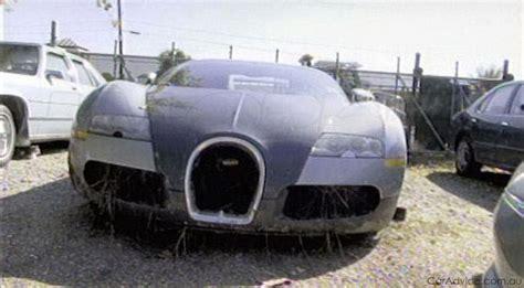 Bugatti Veyron Lagoon Crash Aftermath Gallery