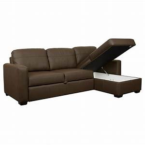 Large leather sofa bed large leather sofa bed ezhandui for Oversized sectional sofa bed