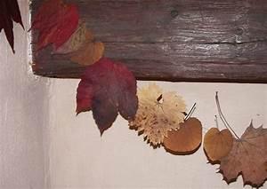 Aus Blättern Basteln : herbstlaub bl ttergirlande basteln erprobte anleitung ~ Lizthompson.info Haus und Dekorationen