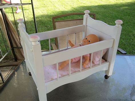 baby doll cribs build your own baby doll crib woodworking projects plans