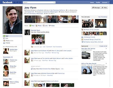 Full Details On Facebook's Overhauled Profile Pages