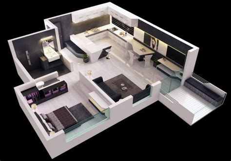 25 One Bedroom Houseapartment Plans by 31 Best House Plans Images On Arquitetura