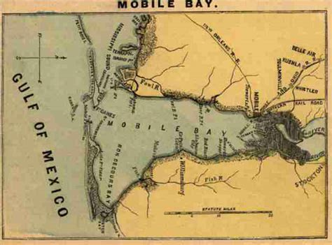 operations  mobile bay alabama civil war battle fort morgan