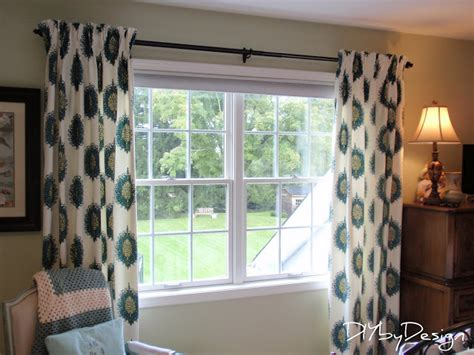 sewing curtains for traverse rods diy by design how to make lined pinch pleat drapes