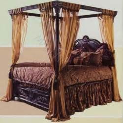 Black Canopy Bed Curtains by Canopy Beds For Adults Black Canopy Beds World