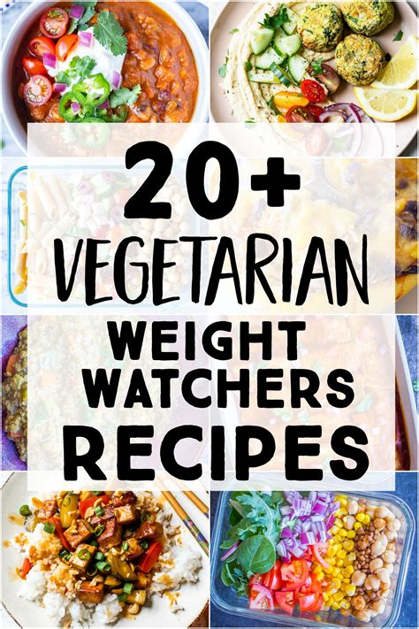 vegetarian weight watchers recipes  likes food