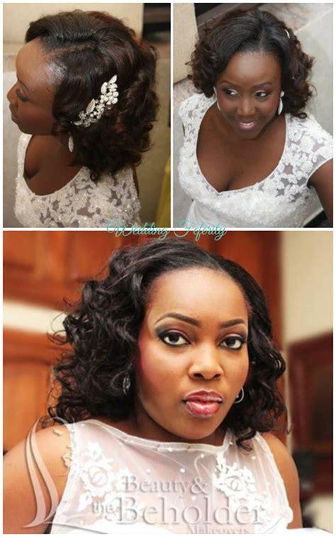 wedding hairstyle ideas   nigerian bride
