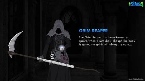 sims  grim reaper wallpaper sims