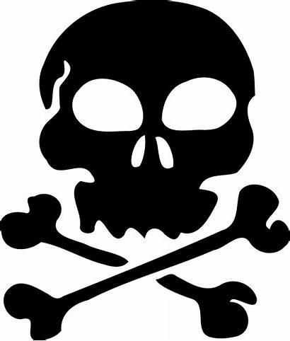 Skull Clipart Pirate Clip Silhouette 1011 Sign
