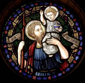 Saint Christophe Patron : catholic conclave feast of st christopher and my name day ~ Medecine-chirurgie-esthetiques.com Avis de Voitures
