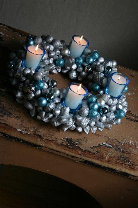 nut glass ornament advent wreath centerpiece featuring