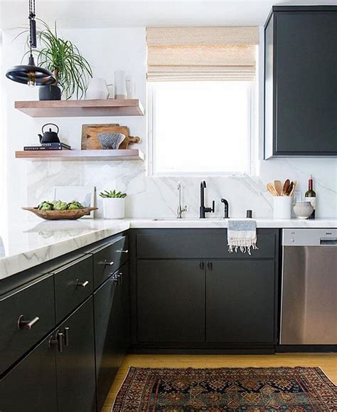 charcoal painted kitchen cabinets inspiring ideas from instagram homes home bunch interior 5234