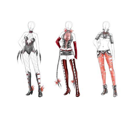 Vampire outfits - set 1 by LotusLumino on DeviantArt