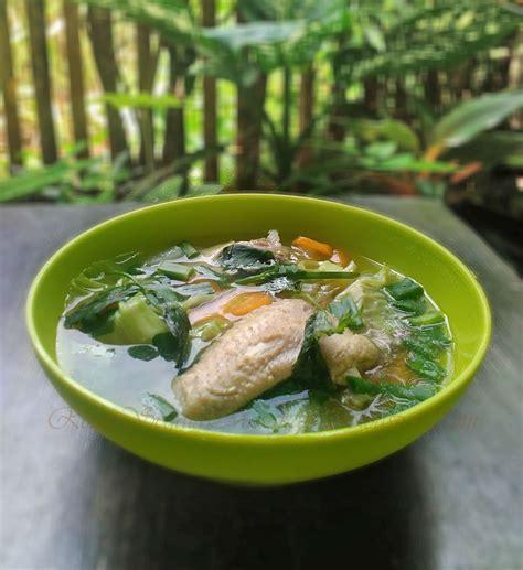 Resep cara membuat masakan sayur sup ayam enak berikut sederhana mudah dan praktis lho. Resep Sayur Sop Sayap Ayam