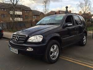mercedes m class 7 seater 2002 mercedes ml 270 cdi 7 seater 4x4 diesel automatic service history