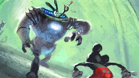 Original Epic Mickey Concept Art Large Images Page 2