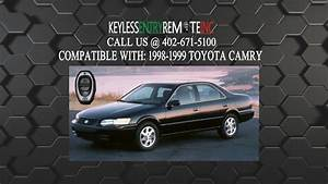 How To Replace A Toyota Camry Key Fob Battery 1998