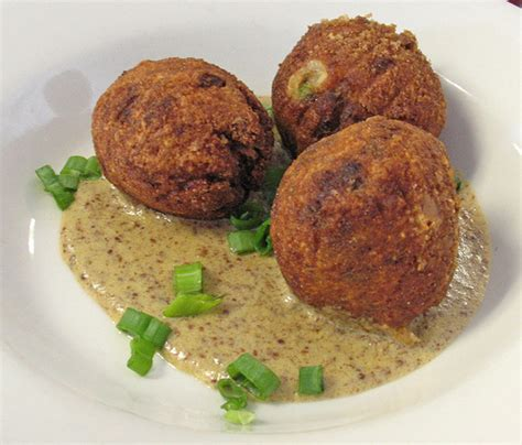 boudin balls boudin balls in creole mustard sauce flickr photo sharing
