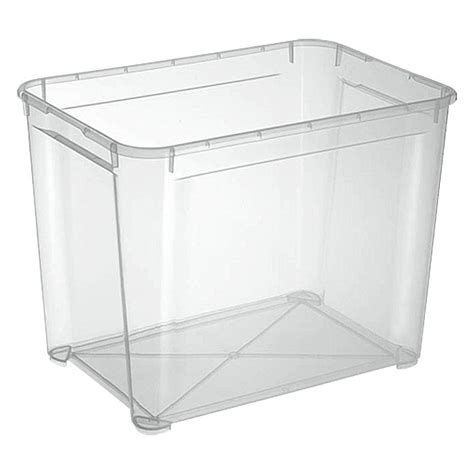 Lada Bauhaus by Regalux Clear Box Xl 70 L Bauhaus