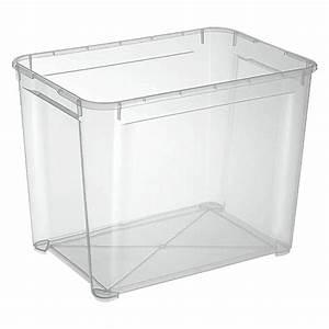 Aufbewahrungsbox 50 X 40 : regalux clear box xl 70 l bauhaus ~ Markanthonyermac.com Haus und Dekorationen