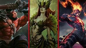 Hero Comparisons Between Dota And League HoN HotS