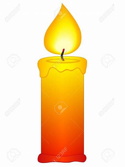 Candle Clipart Candles Background Flame Icon Candela