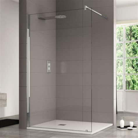 pareti per doccia walk in 140 cm parete doccia in cristallo anticalcare da 10 mm