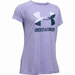 Under Armour Novelty Big Logo Short-Sleeve T-Shirt - Girlsu0026#39; | Backcountry.com