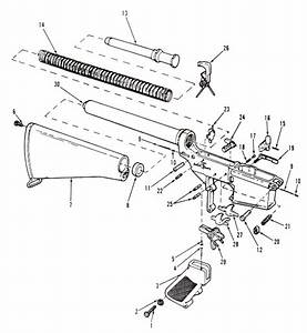 Parts Diagrams  Lower Receiver And Buttstock Assembly